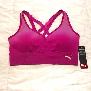 Pink Puma Sports Bra